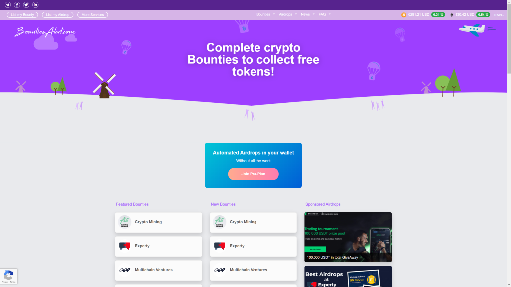 Earn Free Cryptocurrency